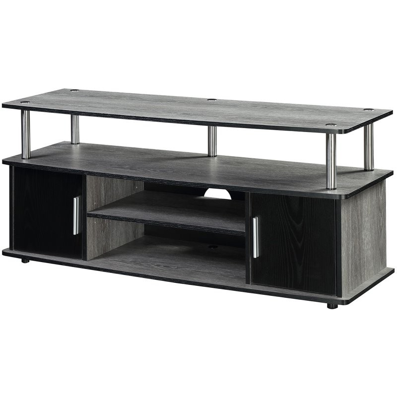 Convenience Concepts Designs2go 45 Monterey Tv Stand In Weathered Gray