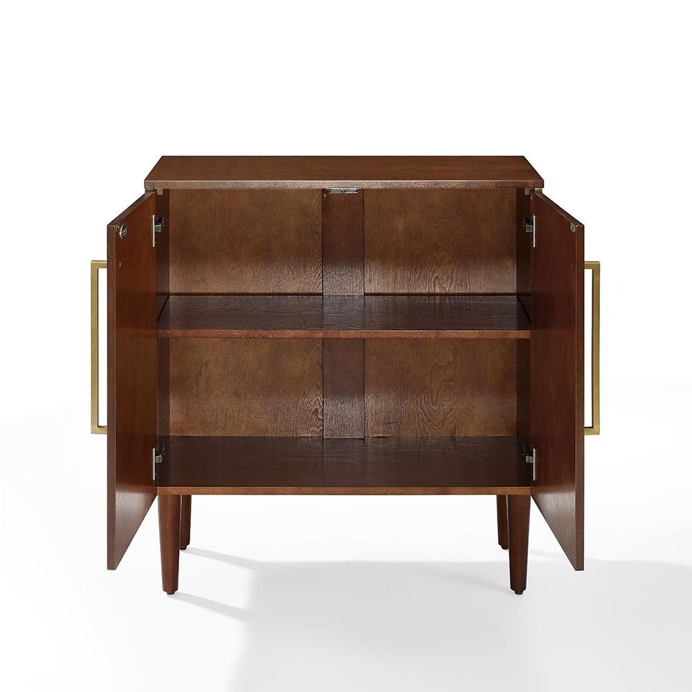 Crosley Furniture Everett Console Table In Mahogany