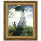 Design Toscano DA3953 30X22 Woman With A Parasol