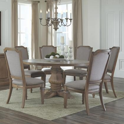 Donny Osmond Home Florence Collection 180200C 7 PC Dining Room Set ...