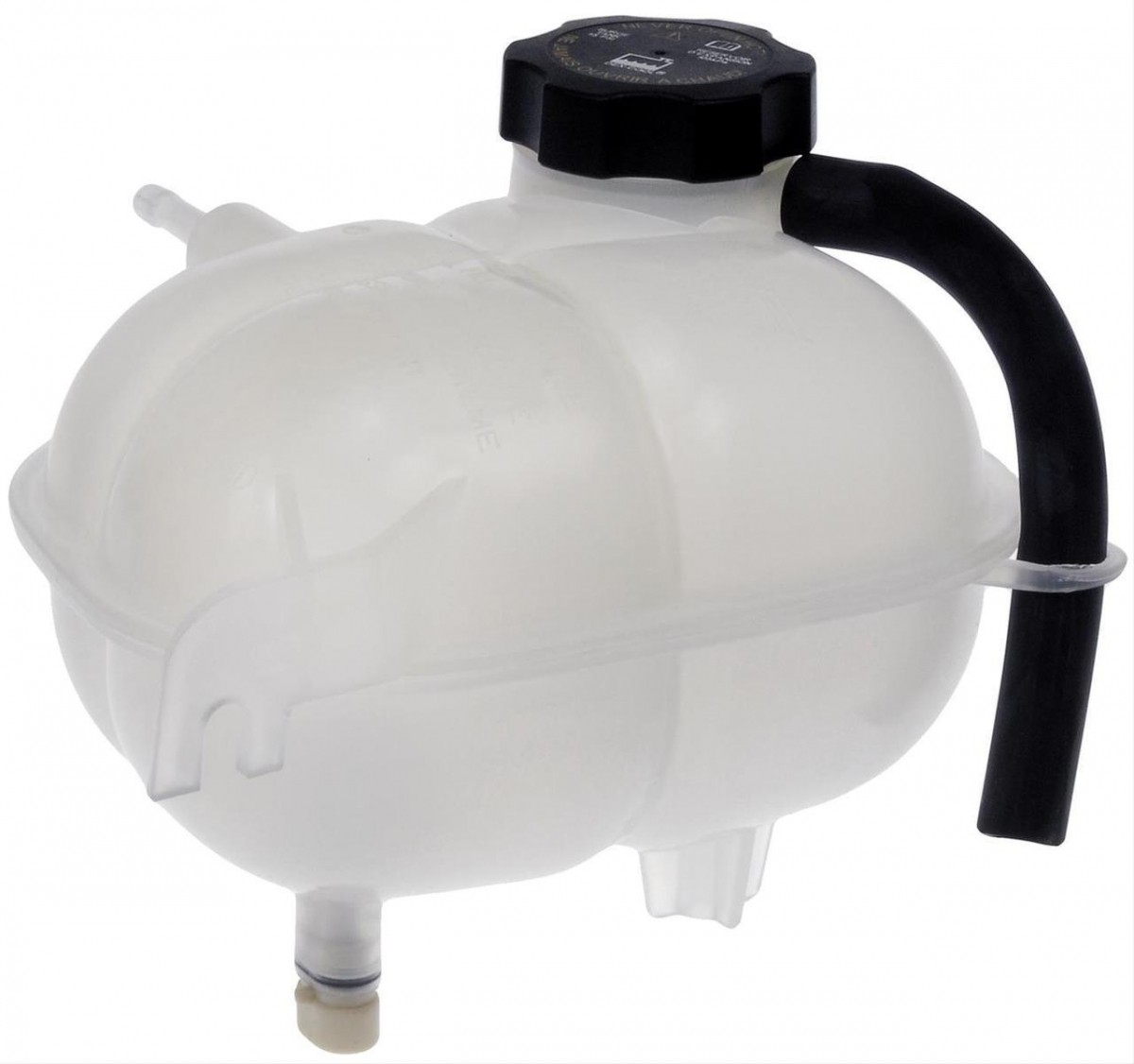 Engine Coolant Recovery Tank Front Dorman 603-033