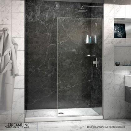 Dreamline Shdr 3234721 01 Linea Frameless Shower Door 34 In X 72