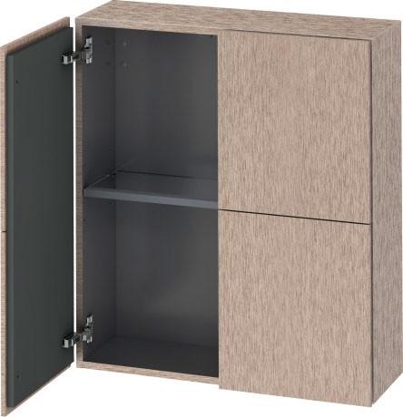 Duravit Lc116701111 L Cube Semi Tall Cabinet 2 T