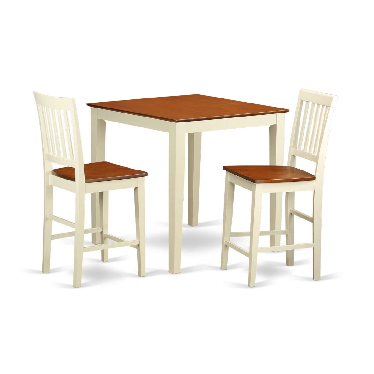 Cheap Pub Tables And Chairs: East West Furniture Vernon 3 Piece Pub Table Set