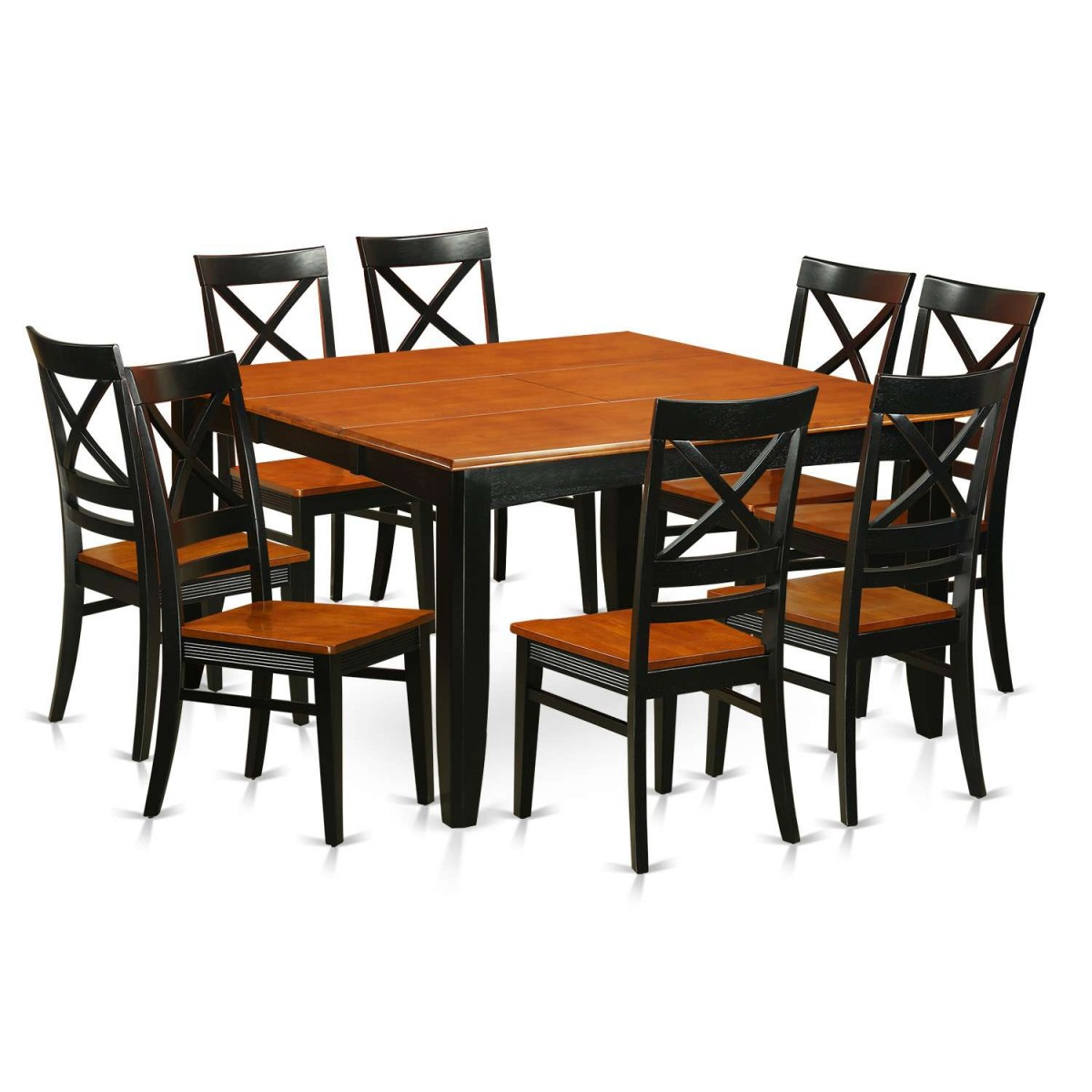 8 Piece Dining Room Sets: East West Furniture Parfait 9 Piece Dining Room Set
