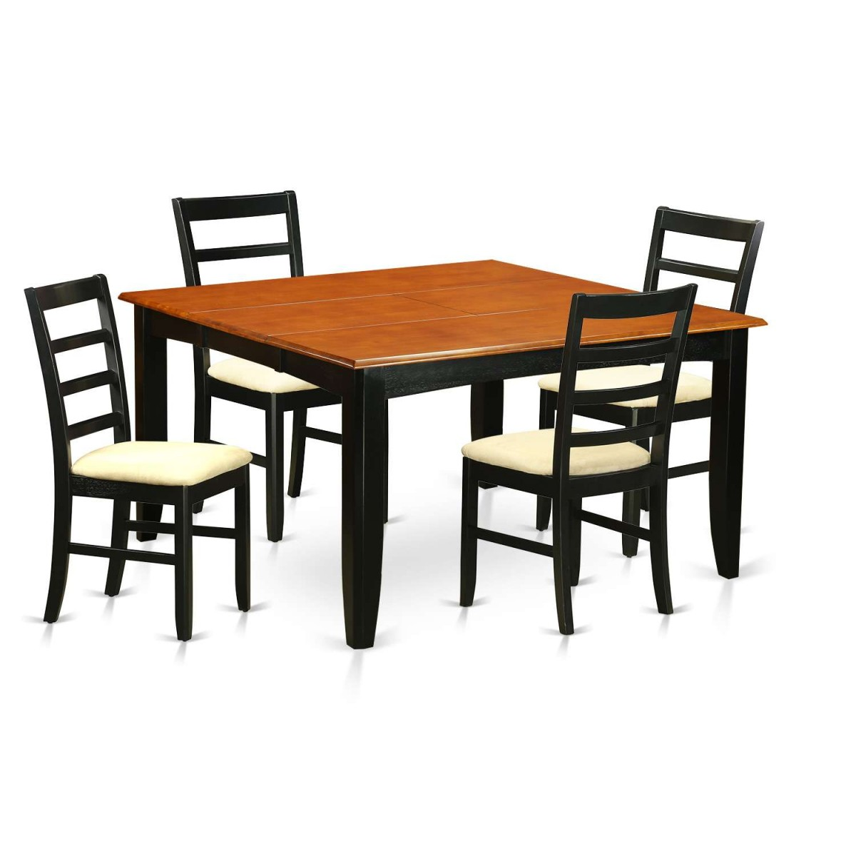 East West Furniture Parfait 5 Piece Dining Table Set