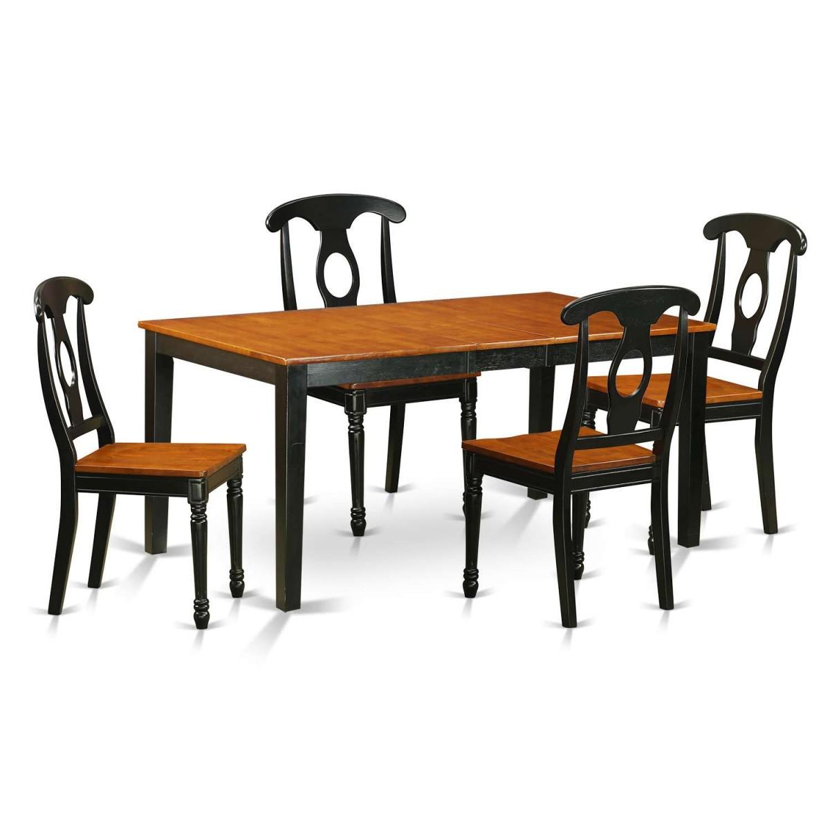 East West Nicoli 6 Piece Dining Set: East West Furniture Nicoli 5 Piece Table Set