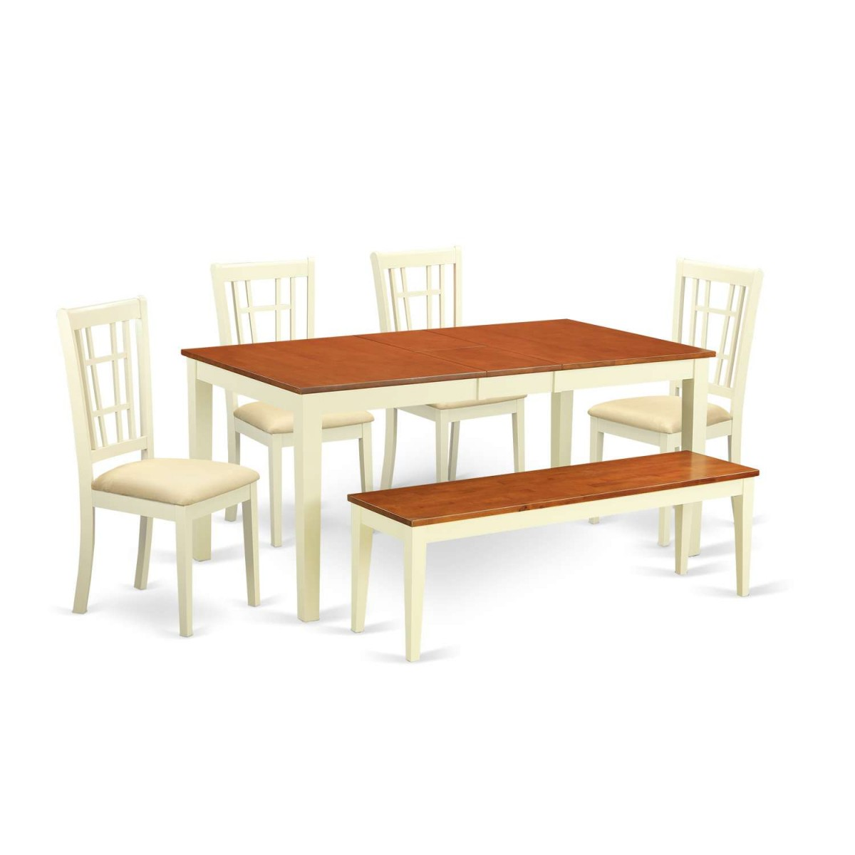 East West Nicoli 6 Piece Dining Set