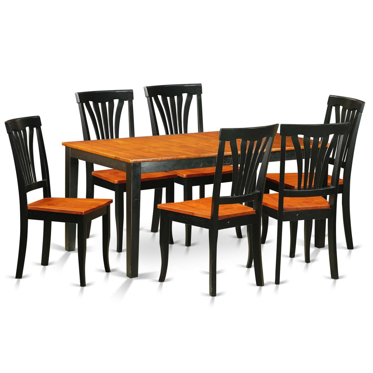 East West Nicoli 6 Piece Dining Set: East West Furniture Nicoli 7 Piece Kitchen Table Set