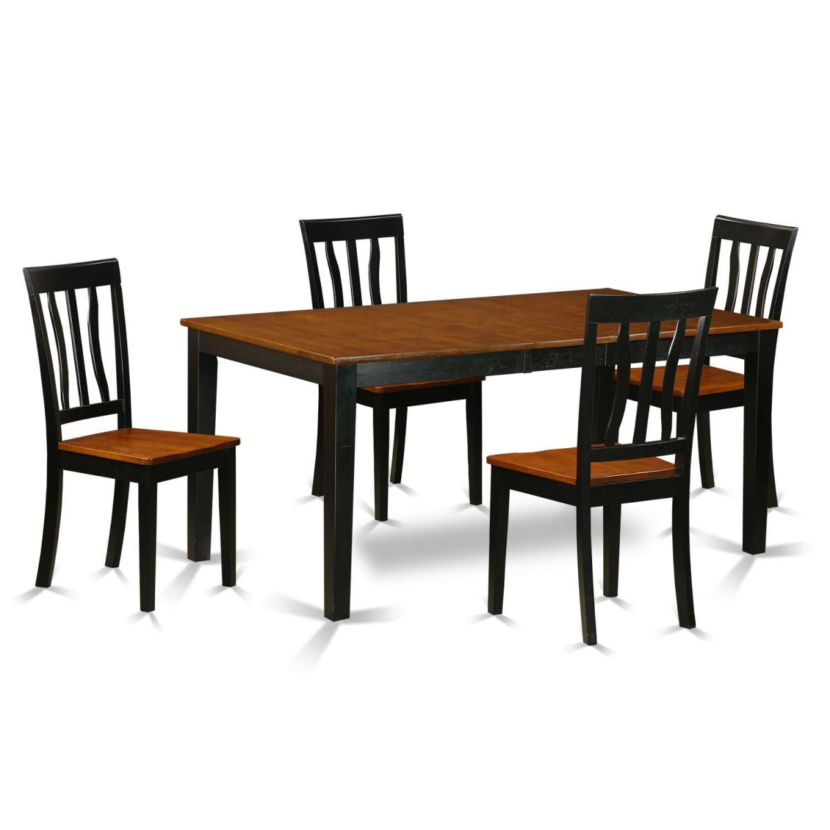 East West Nicoli 6 Piece Dining Set: East West Furniture Nicoli 5 Piece Kitchen Table Set