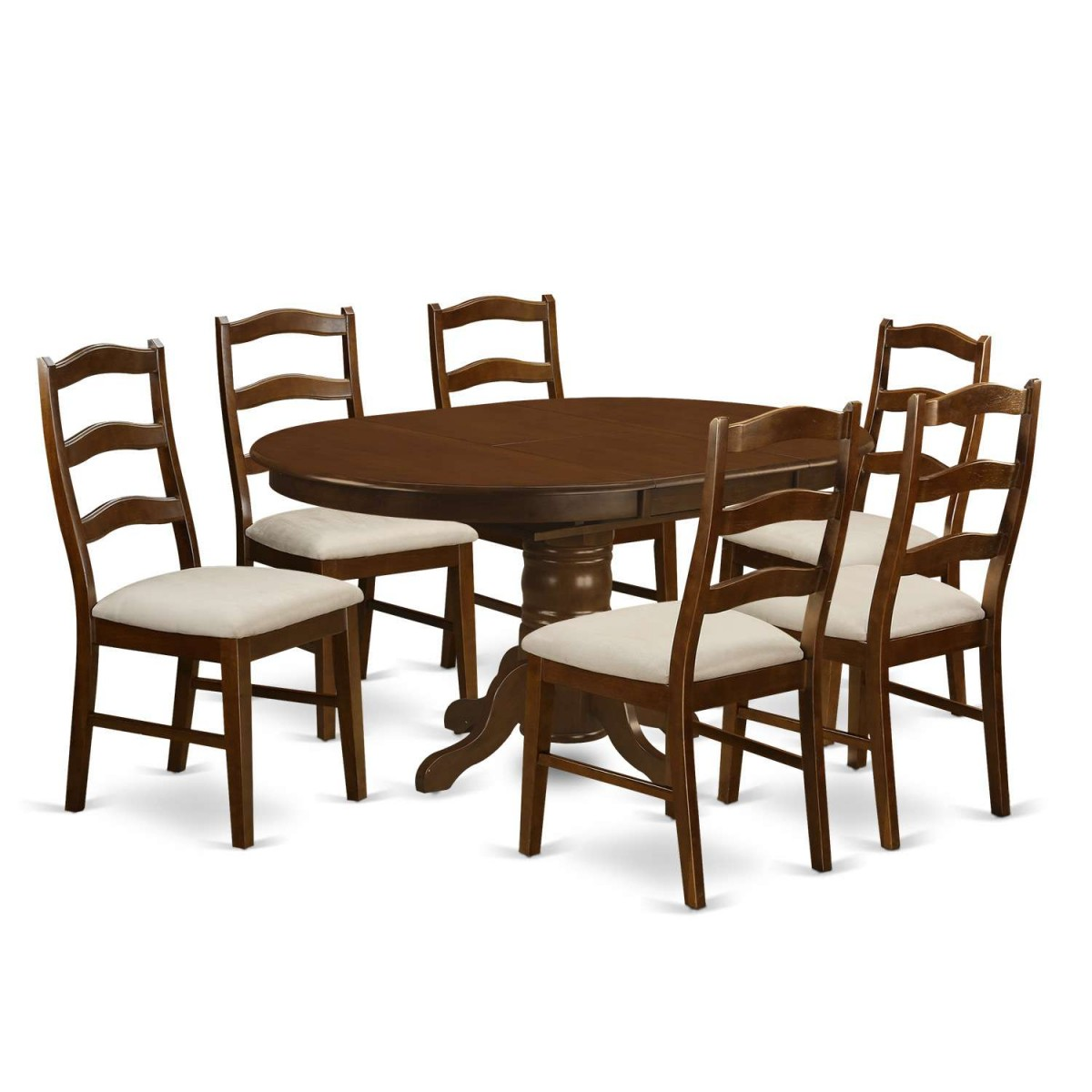 Cheap 7 Piece Dining Sets: East West Furniture Kenley 7 Piece Dining Table Set