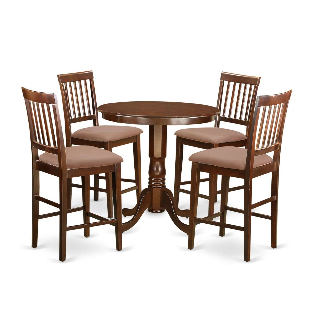 East West Furniture Jackson 5 Piece Counter Height Dining