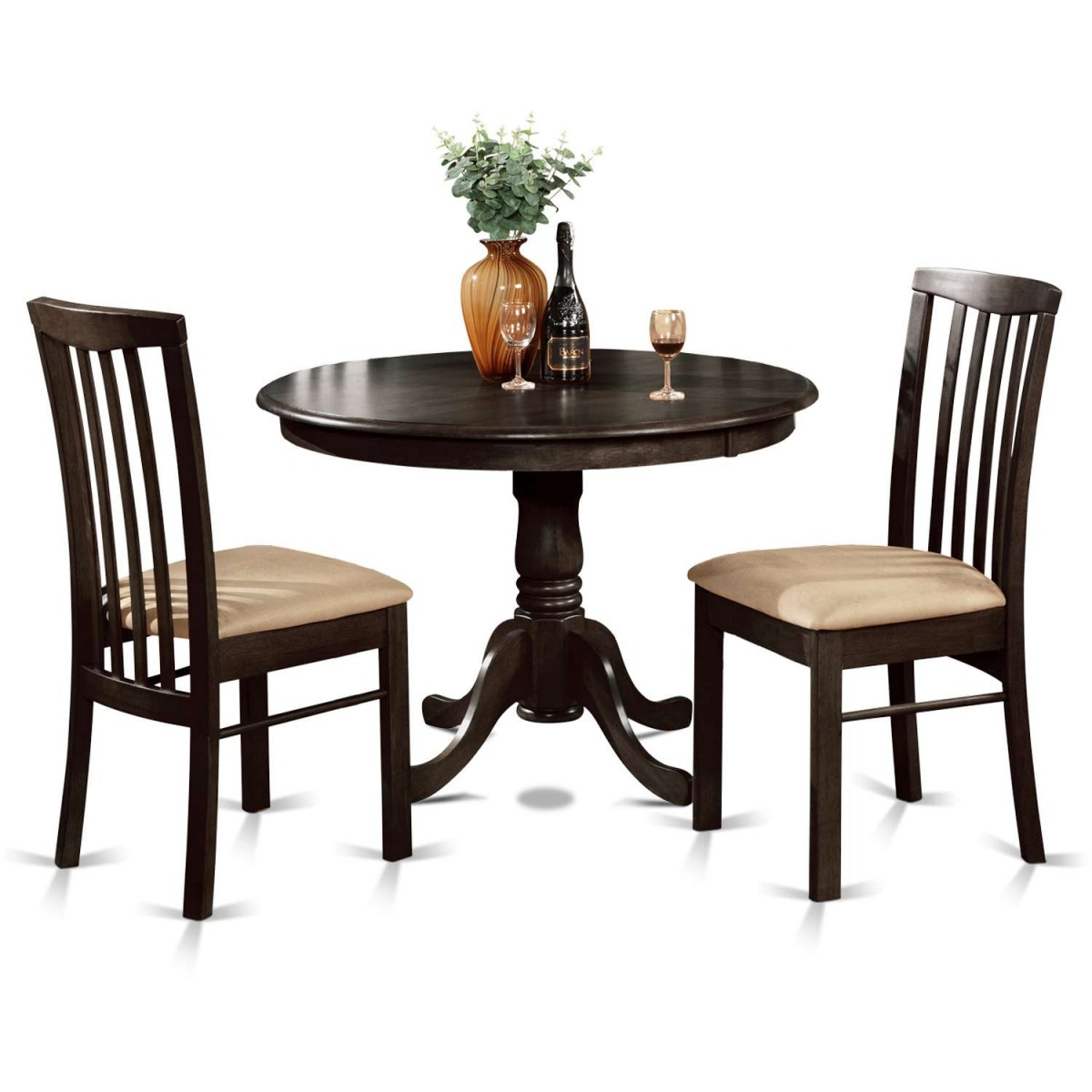 Kitchen Table And Chair Sets Cheap: East West Furniture Hartland 3 Piece Kitchen Nook Dining