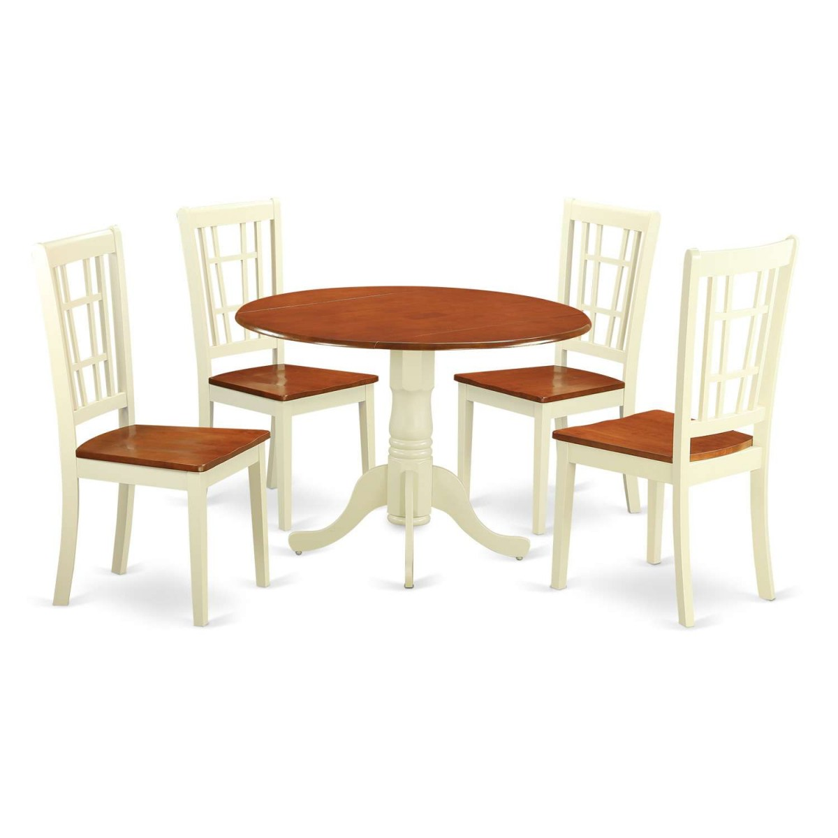 East West Furniture Dublin 5 Piece Kitchen Table Set