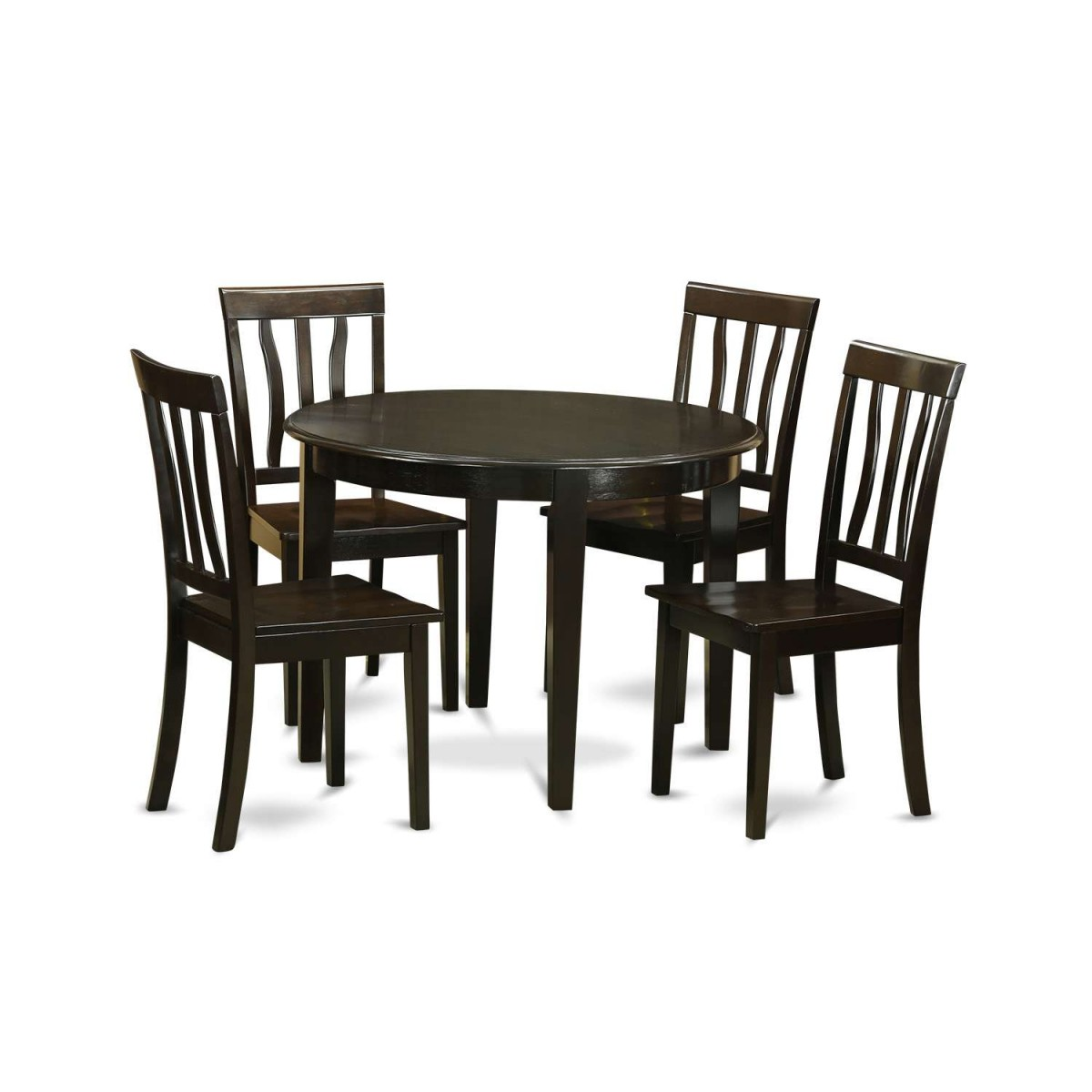 East West Furniture Boston 5 Piece Kitchen Table Set