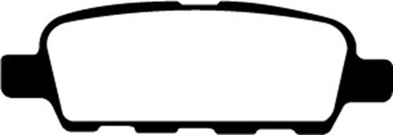 EBC Brakes DP31851C Redstuff Ceramic Low Dust Brake Pad
