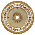 Elegant Lighting MD212D43FG Medallion Ceiling Canopy 43 in French Gold