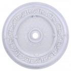 Elegant Lighting MD211D43WH Medallion Ceiling Canopy 43 in White