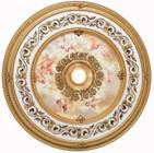 Elegant Lighting MD209D43FG Medallion Ceiling Canopy 43 in French Gold
