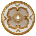 Elegant Lighting MD208D43G Medallion Ceiling Canopy 43 in Gold