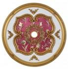 Elegant Lighting MD205D43FG Medallion Ceiling Canopy 43 in French Gold
