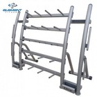 Element Fitness E-500-834CPR Cardio Pump Rack with 20 Pump Capacity and Metal Frame in Gray