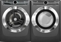 Electrolux Titanium Front Load Laundry Pair with EFLS617STT 27