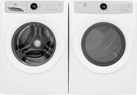 Electrolux White Front Load Laundry Pair With Eflw317tiw