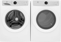 Electrolux White Front Load Laundry Pair with EFLW317TIW 27