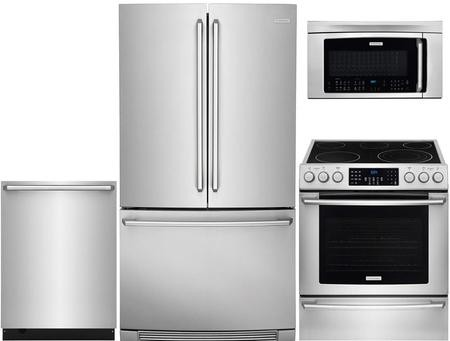 Electrolux 4-Piece Kitchen Appliance Package with EI23BC82SS 36\
