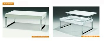 """ESF i5022 43"""" J030 White Coffee Table  Coffee and End Tables  ESF Style Collection"""