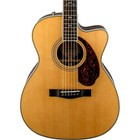 Fender Paramount Series PM-3 Deluxe 000 Orchestra Acoustic-Electric Guitar Natural