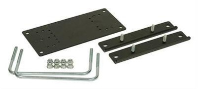 Kargo Master 31580 Black No-Drill Clamp-On Foot Plate Mount Kit