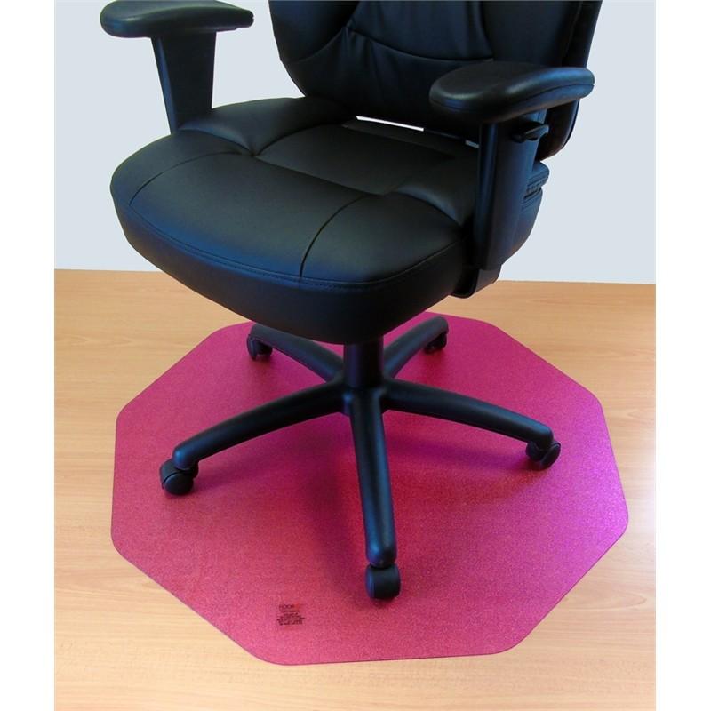 Floortex Cleartex Cerise Pink 9mat Ultimat Polycarbonate