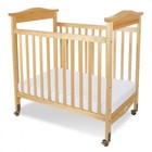 Foundations 1822047 Biltmore Collection Safereach Fixed Side Clearview Full Crib: Natural