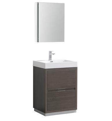 Fresca Valencia Collection Fvn8424go 24 Quot Freestanding Sink