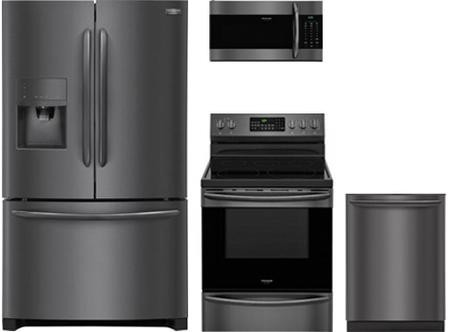 Frigidaire 4 Piece Kitchen Package With Fghb2867td 36 French Door
