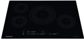 "Frigidaire FFIC3026TB 30"" ADA Compliant Induction Cooktop with 4 Elements  Pan Presence  Easy to Clean  and Timer  in Black"
