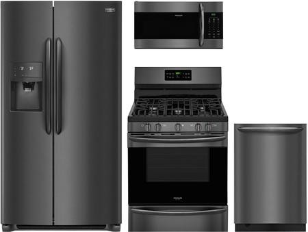 Frigidaire 4 Piece Kitchen Appliance Package with FGSS2635TD 36\