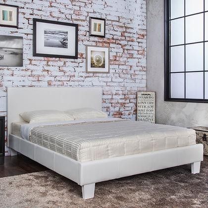 Furniture of America Winn Park CM7008WH-EK-BED Eastern King Bed in White