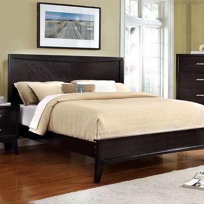 Furniture of America Snyder CM7792EX-EK-BED Eastern King Bed in Espresso