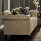 Furniture of America Antoinette SM2224-LV Love Seat in Light Mocha