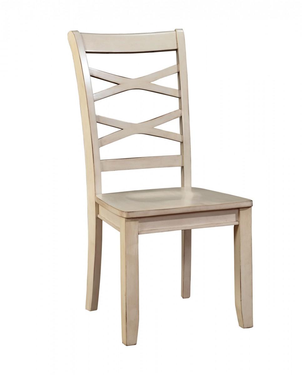waterloo furniture furniture of america waterloo versatile slat back white