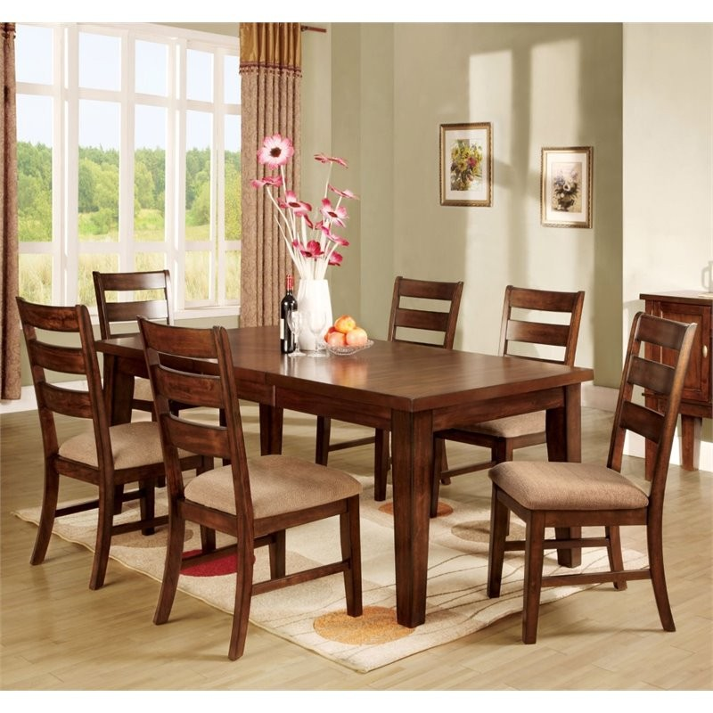 Cheap 7 Piece Dining Sets: Furniture Of America Braddy 7 Piece Removable Leaf Dining