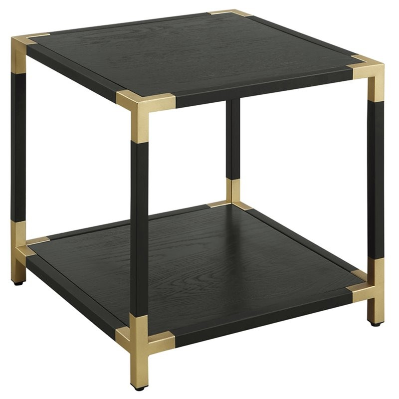 Furniture Of America Falsetta End Table In Black