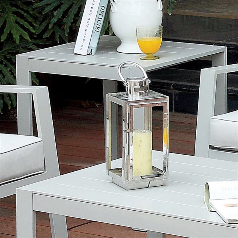 Furniture Of America Werner Contemporary Patio End Table