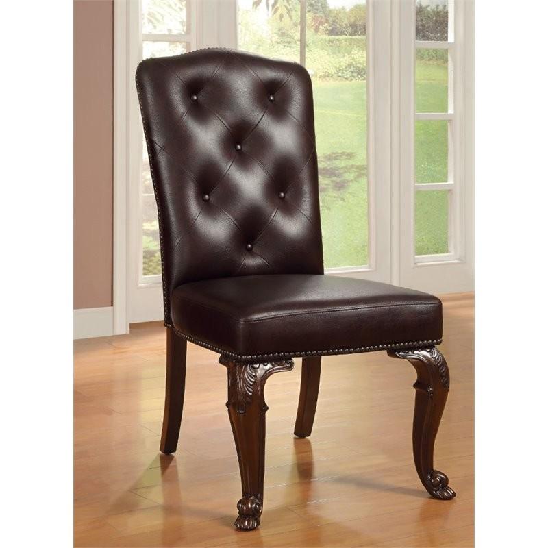 Furniture Of America Ramsaran Upholstered Dining Chair
