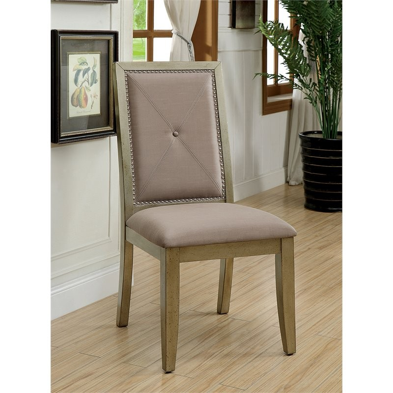 Furniture Of America Casagrand Dining Side Chair (Set Of 2
