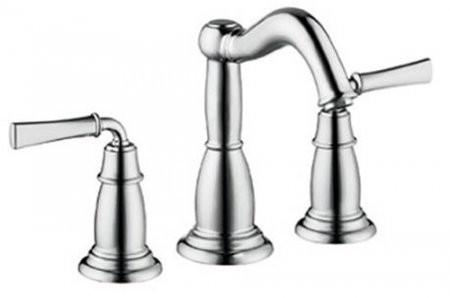 Hansgrohe 4270820 Double Handle Widespread Bathroom Faucet With