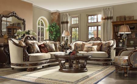 Homey design hd16237pc 8 piece living room set with sofa - 8 piece living room furniture set ...